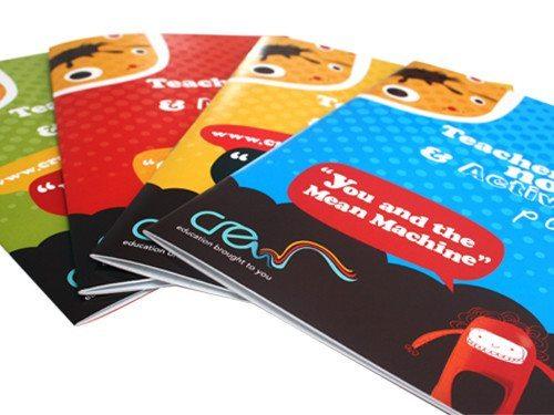 Primary school workshop brochures