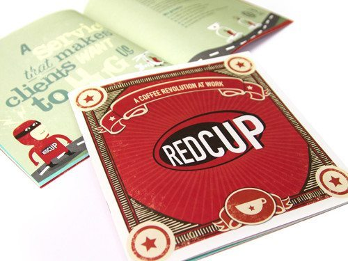 Redcup Coffee corporate brochure