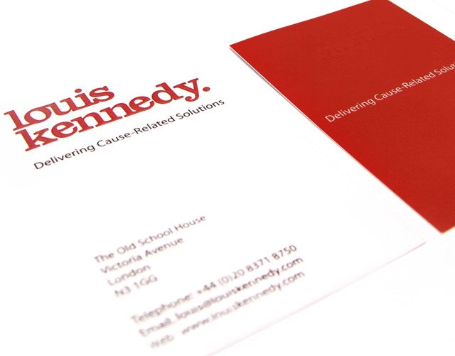 Louis Kennedy Corporate ID design