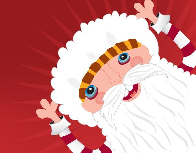 Feelingpeaky Christmas Illustration