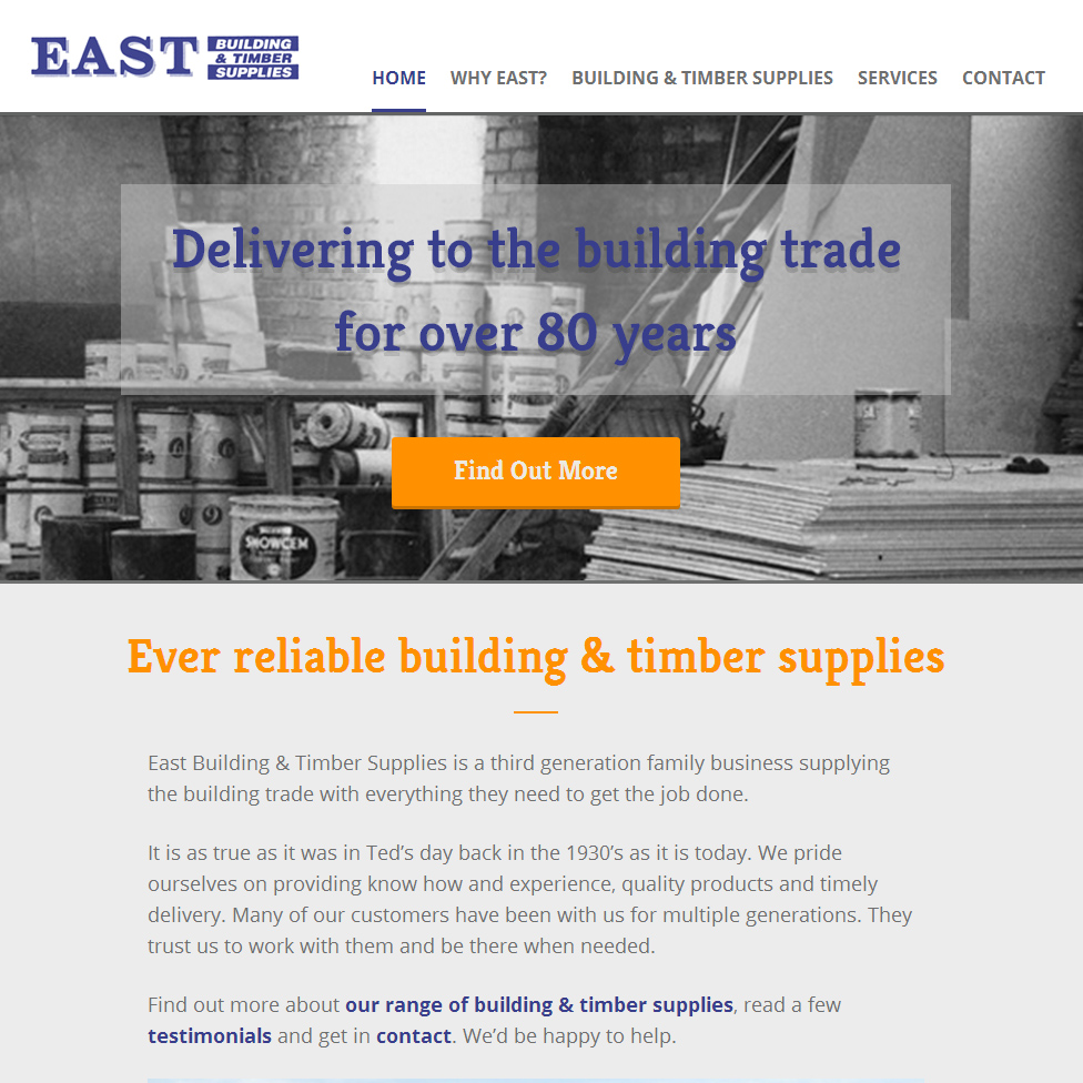 East Building & Timber Supplies