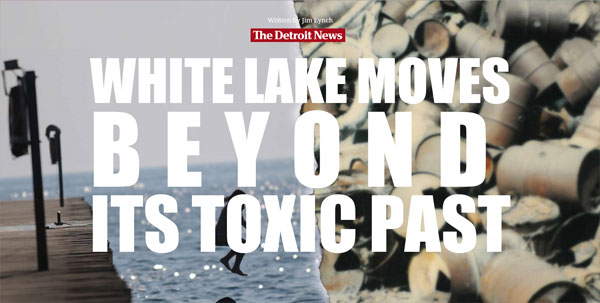 White lake moves beyond its toxic past
