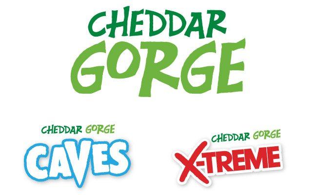 Cheddar Gorge branding