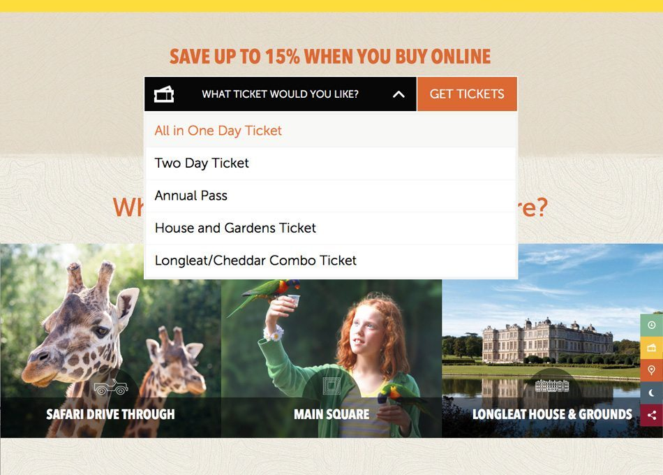 E-commerce Website Design - What Ticket