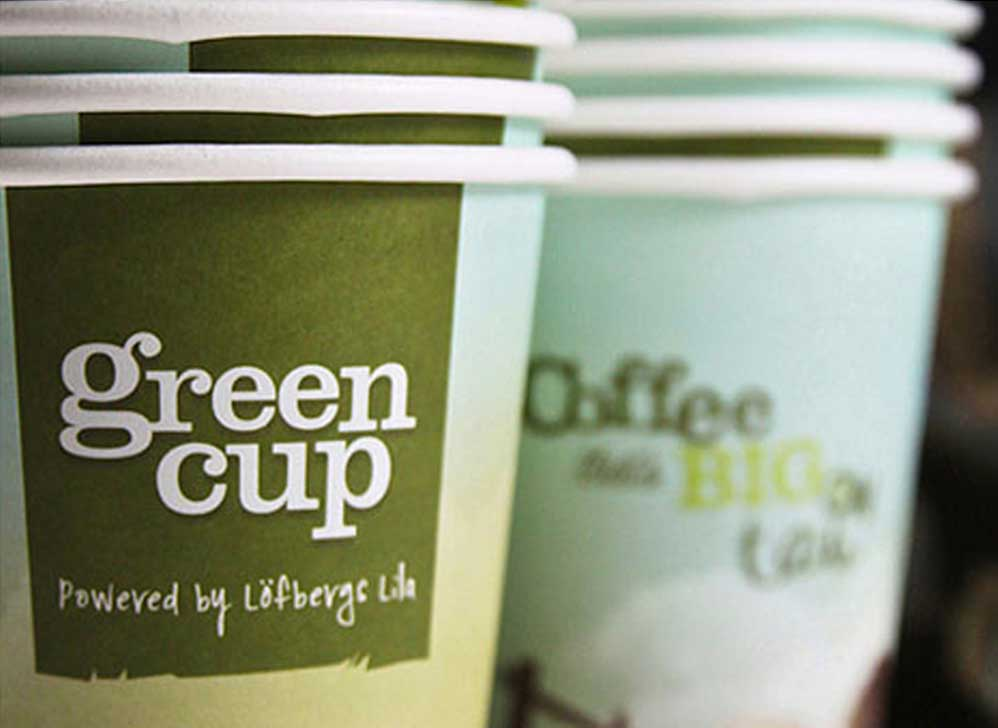 Greencup brand identity and packaging design