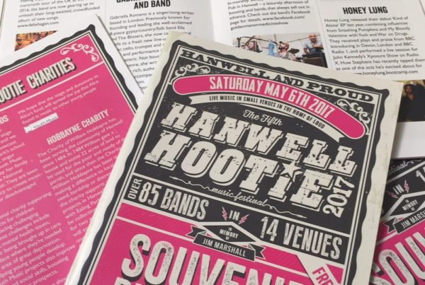 Hanwell Hootie Brochure Design
