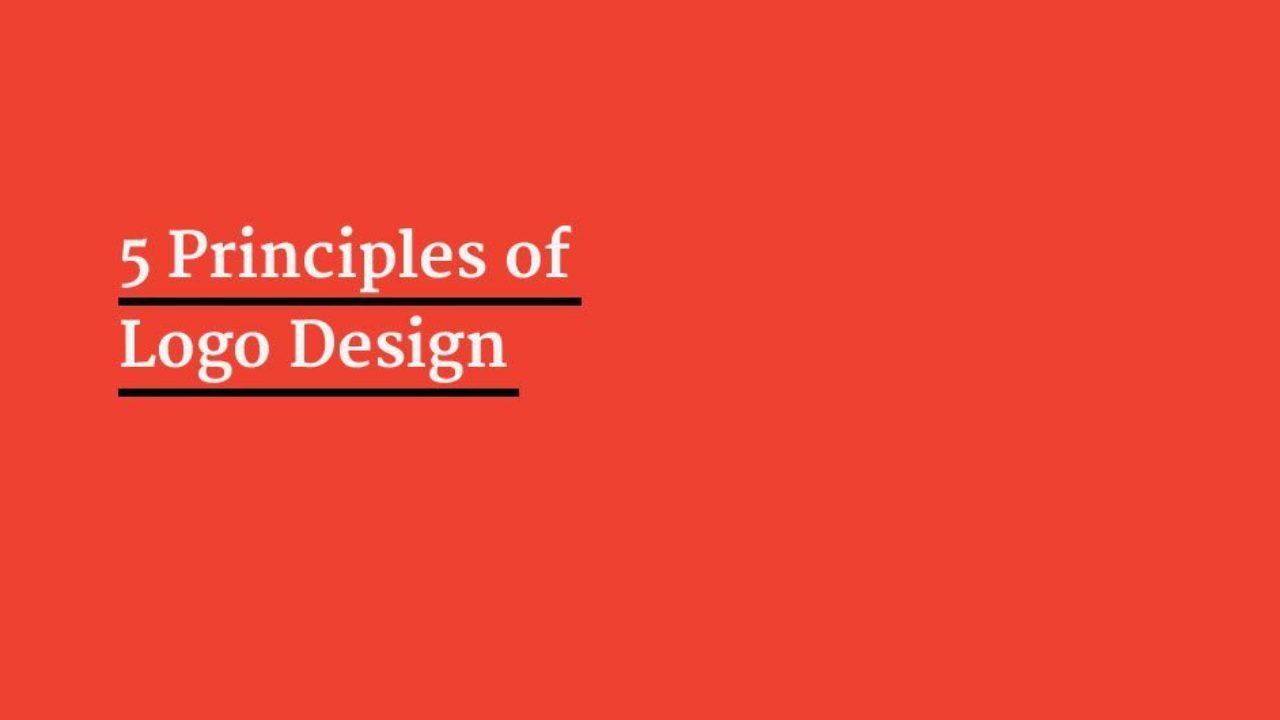 5 Principles For Logo Design Principles To Design A Logo