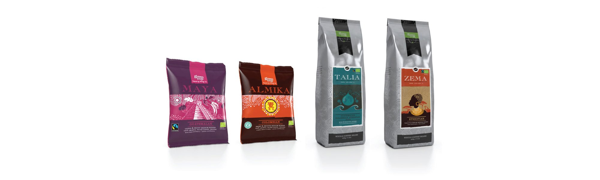 Greencup packaging design