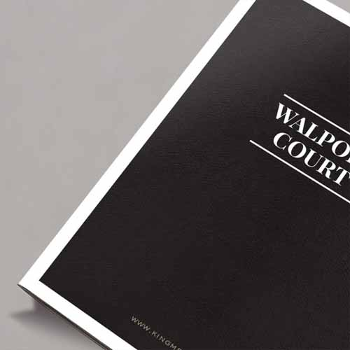 Walpole Court Brochure Design