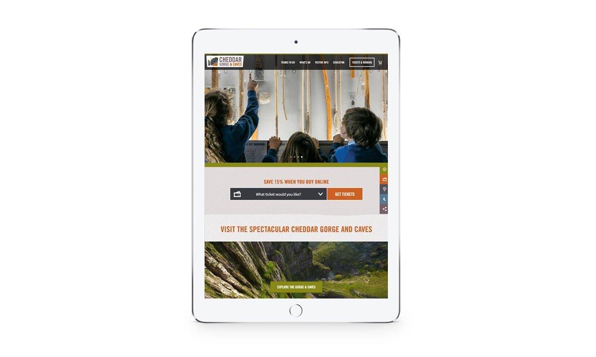 Cheddar - Responsive iPad