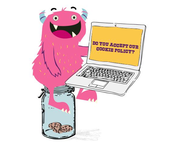 Feelingpeaky Cookie Policy Monster